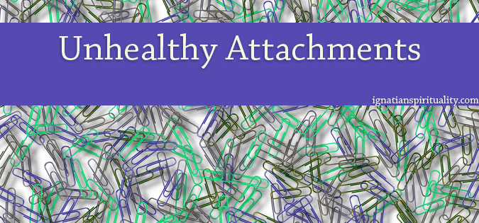 paperclips symbolizing unhealthy attachments