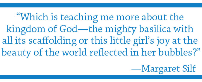 Which teaches more? quote by Margaret Silf