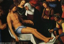 Compianto sul Cristo morto - Lamentation over the Dead Christ by Pietro Perugino