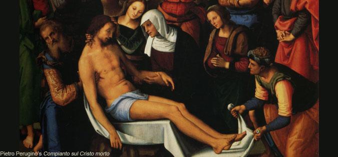 Compianto sul Cristo morto - Lamentation over the Dead Christ by Pietro Perugino