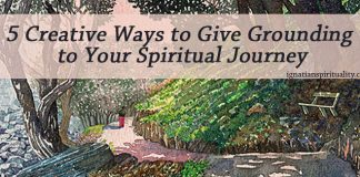 Park scene: Five Creative Ways to Give Grounding to Your Spiritual Journey