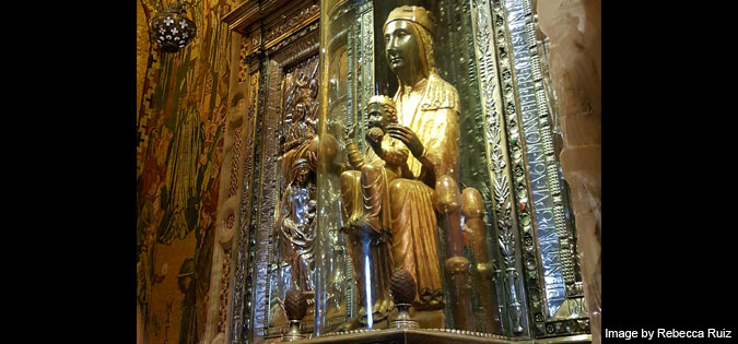 Our Lady of Montserrat - photo by Rebecca Ruiz