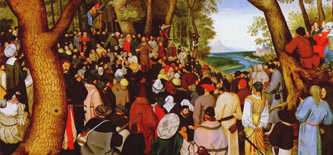 Pieter Brueghel the Younger - St. John the Baptist Preaching