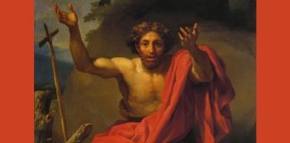 Anton Raphael Mengs - Saint John the Baptist Preaching