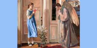 John Collier - The Annunciation - Used with permission. All rights reserved. Hillstream.com
