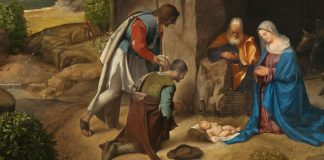 """The Adoration of the Shepherds"" by Giorgione - Public domain via Wikimedia Commons"