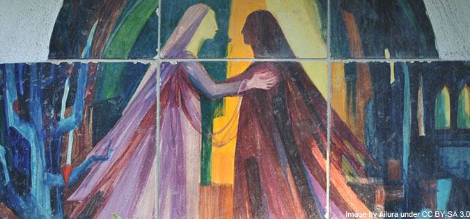 Visitation - image by Ailura under CC BY-SA 3.0