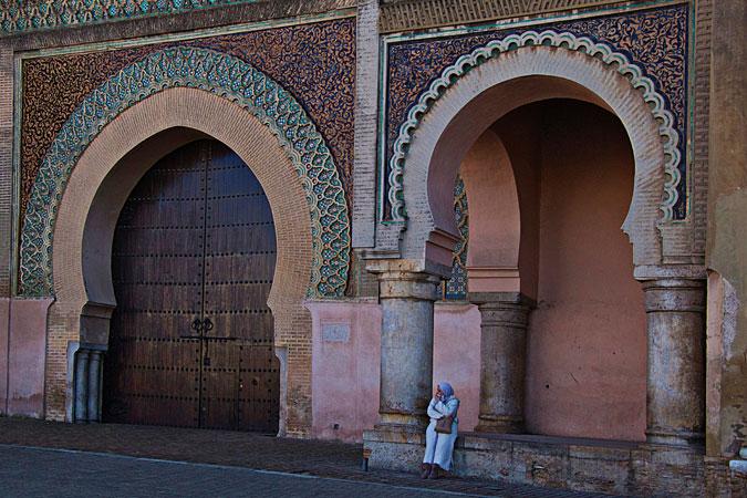 Morocco - city gate Meknes - photo provided by Vinita Wright