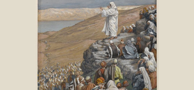 James Tissot - Sermon of the Beatitudes