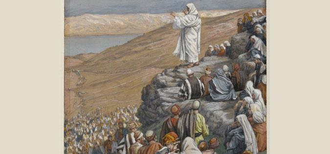 James Tissot - Sermon of the Beatitudes