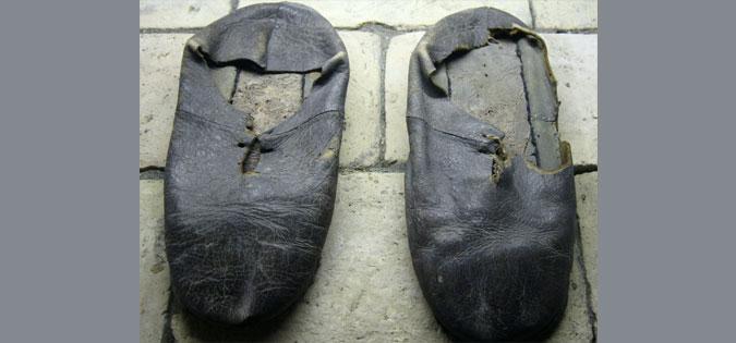 shoes of St. Ignatius Loyola