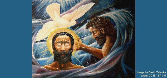 Baptism of Christ by David Zelenka under CC BY-SA 3.0