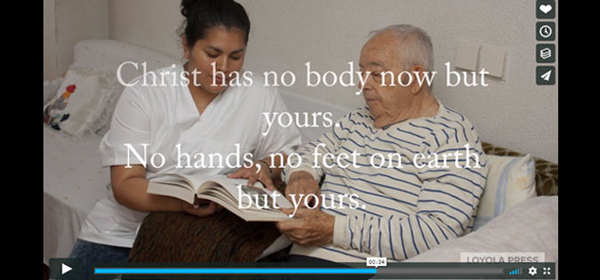 Christ Has No Body Now but Yours - video screenshot