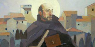 Saint Ignatius Walking - image by Loyola Press