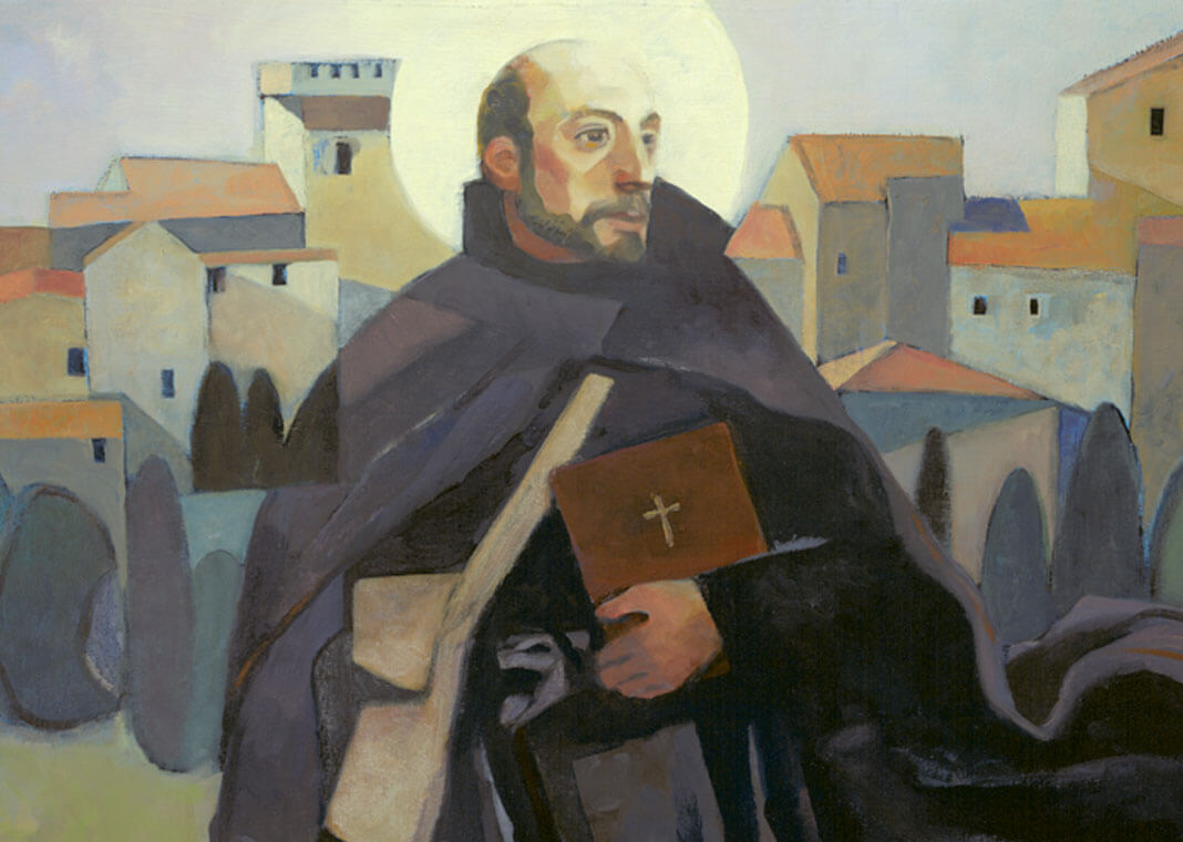 Saint Ignatius Walking - image by Loyola Press
