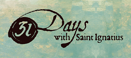 31 Days with Saint Ignatius logo