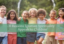 children arm in arm - text: 6 Reasons Ignatian Spirituality Appeals to Children