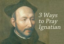 3 ways to pray Ignatian - with image of St. Ignatius Loyola