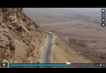 Keeping Good Company for Your Soul video screenshot - car driving in desert