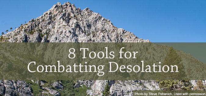 Eight Tools for Combatting Desolation