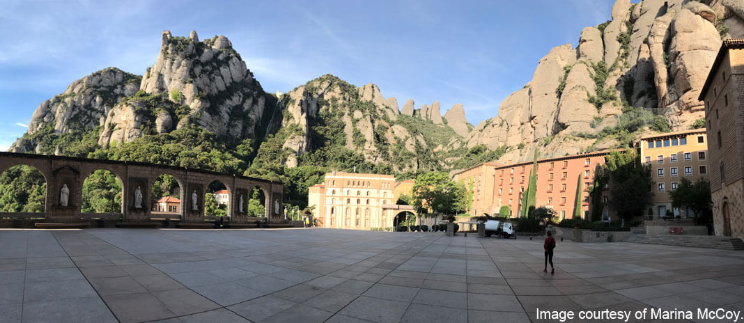 Montserrat Spain - image courtesy of Marina McCoy