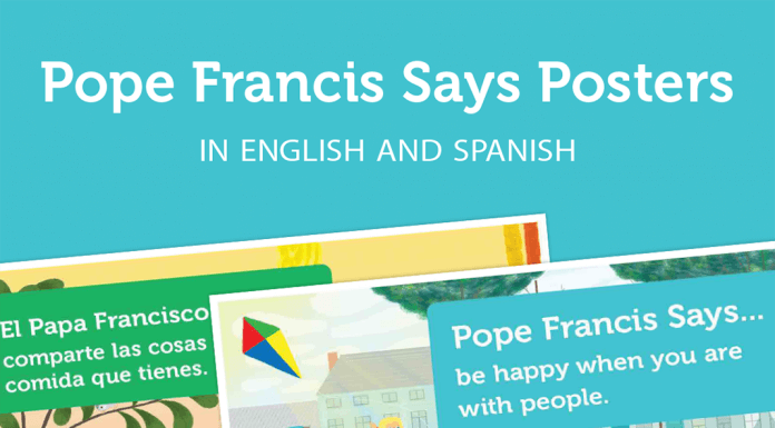Pope Francis Says… posters