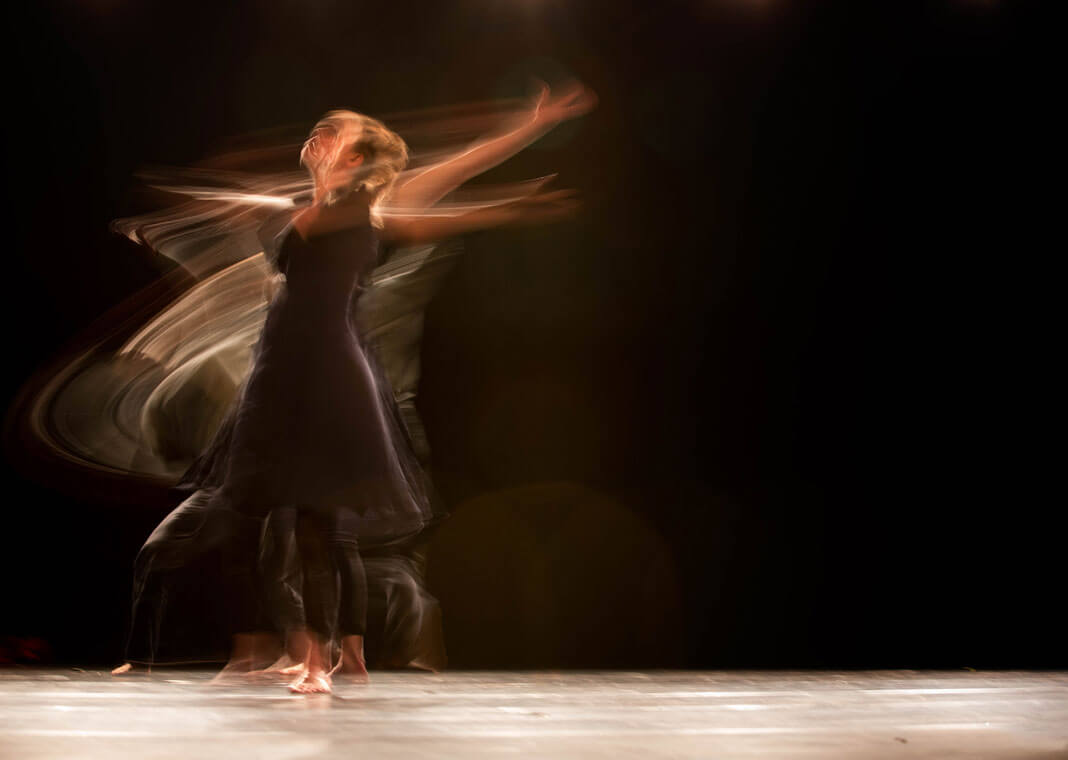 dancer in motion - photo by Ahmad Odeh on Unsplash