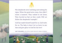 Christmas message excerpted from Loyola Kids Book of Bible Stories by Amy Welborn