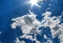 sun through clouds - image by Lisa Runnels from Pixabay
