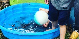 kiddie pool - image courtesy of Gretchen Crowder