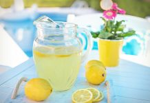 lemonade - image by Jill Wellington from Pixabay