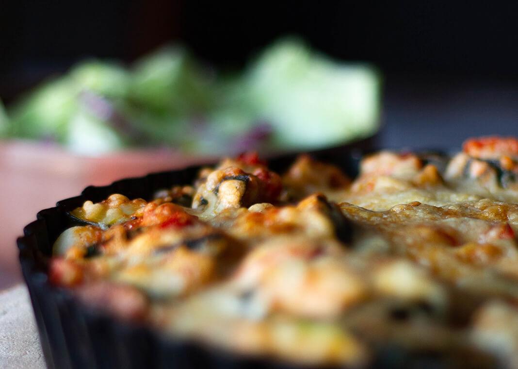 strata casserole - photo by Micheile Henderson on Unsplash