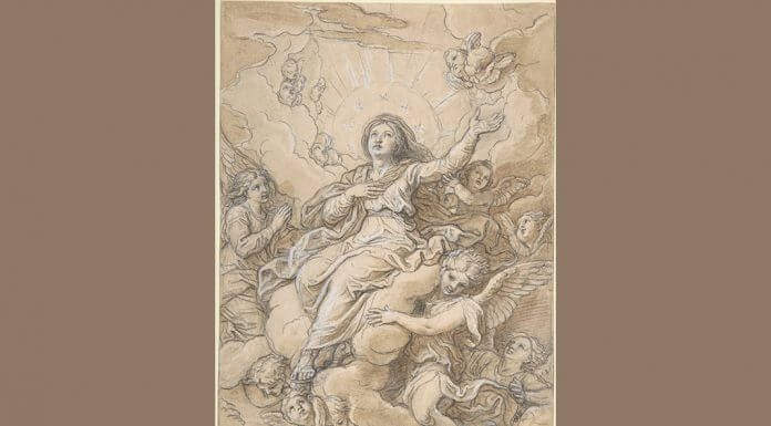 """""""The Assumption of the Virgin"""" by Michel Corneille the Younger, via The Metropolitan Museum of Art, licensed under CC0 1.0"""