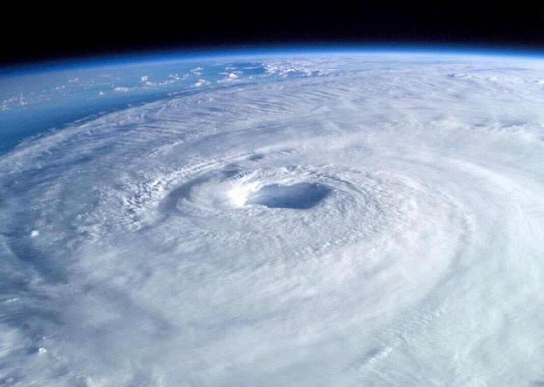 eye of the hurricane - photo by PIXNIO