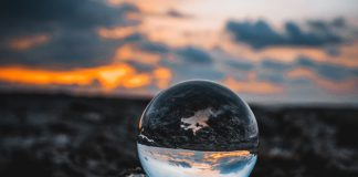 upside-down world as reflected in marble -photo by Louis Maniquet on Unsplash