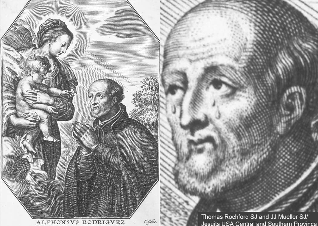 Saint Alphonsus Rodriguez SJ - image courtesy of Thomas Rochford SJ and JJ Mueller SJ/Jesuits USA Central and Southern Province