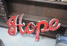 hope spelled out in red letters on sign - image by Rebecca Matthews from Pixabay