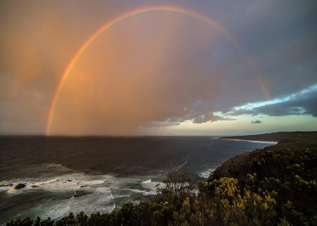 rainbow - photo by PIXNIO