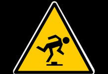 stumbling block - caution sign via Pixabay