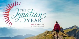 The Ignatian Way for the Ignatian Year - text over image of mountain hiker
