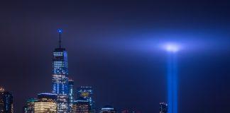 9-11 Tribute in Light - photo by Jesse Mills on Unsplash