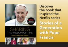 Sharing the Wisdom of Time - the book that inspired the Netflix series Stories of a Generation with Pope Francis